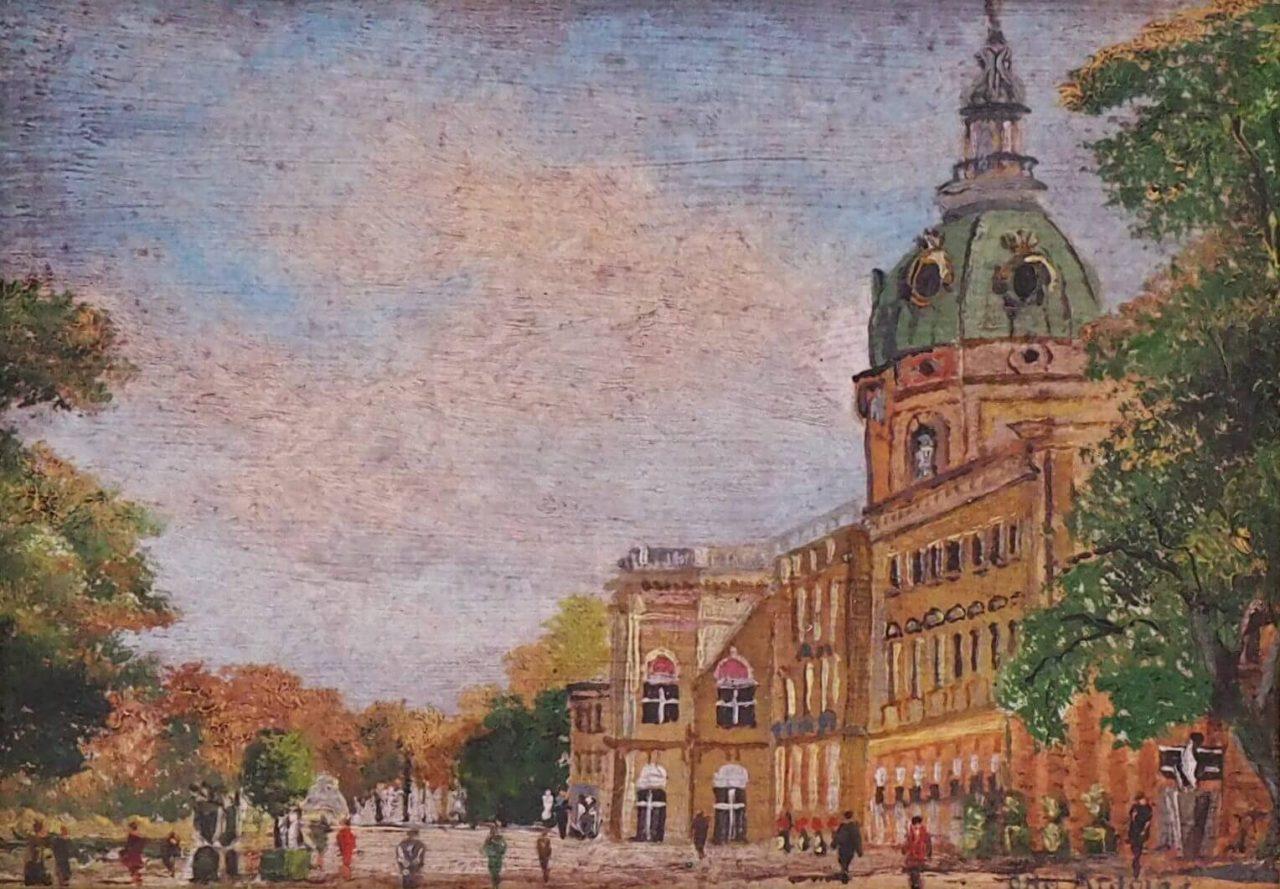Otto Antoine - Schloss Charlottenburg