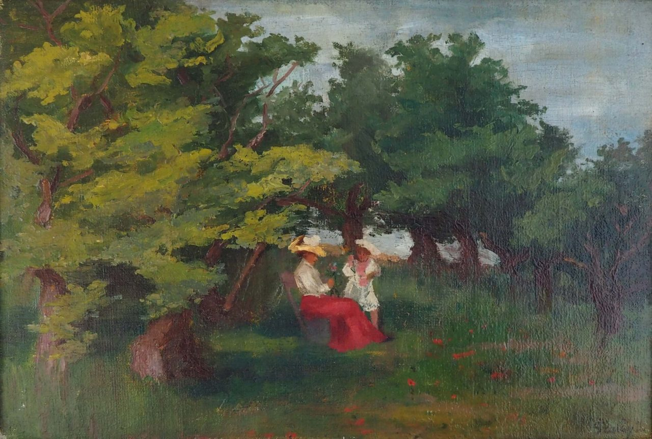 J. Szalay - Rast im Park