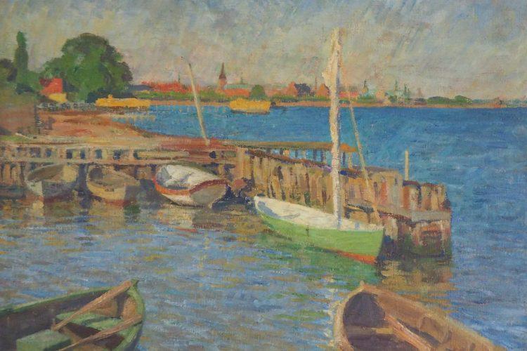 Hans Brygge - Boote im Hafen