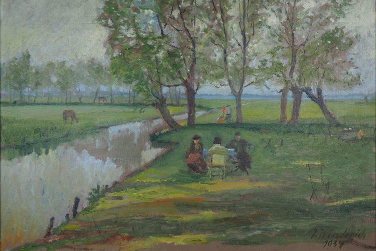 Wenderich - Picknick am Flussufer